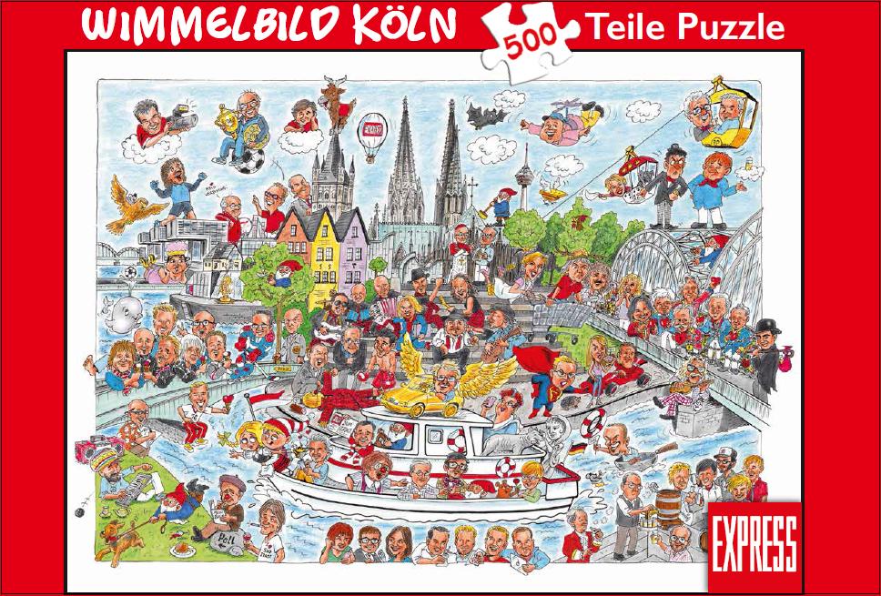 Wimmelbild Puzzle