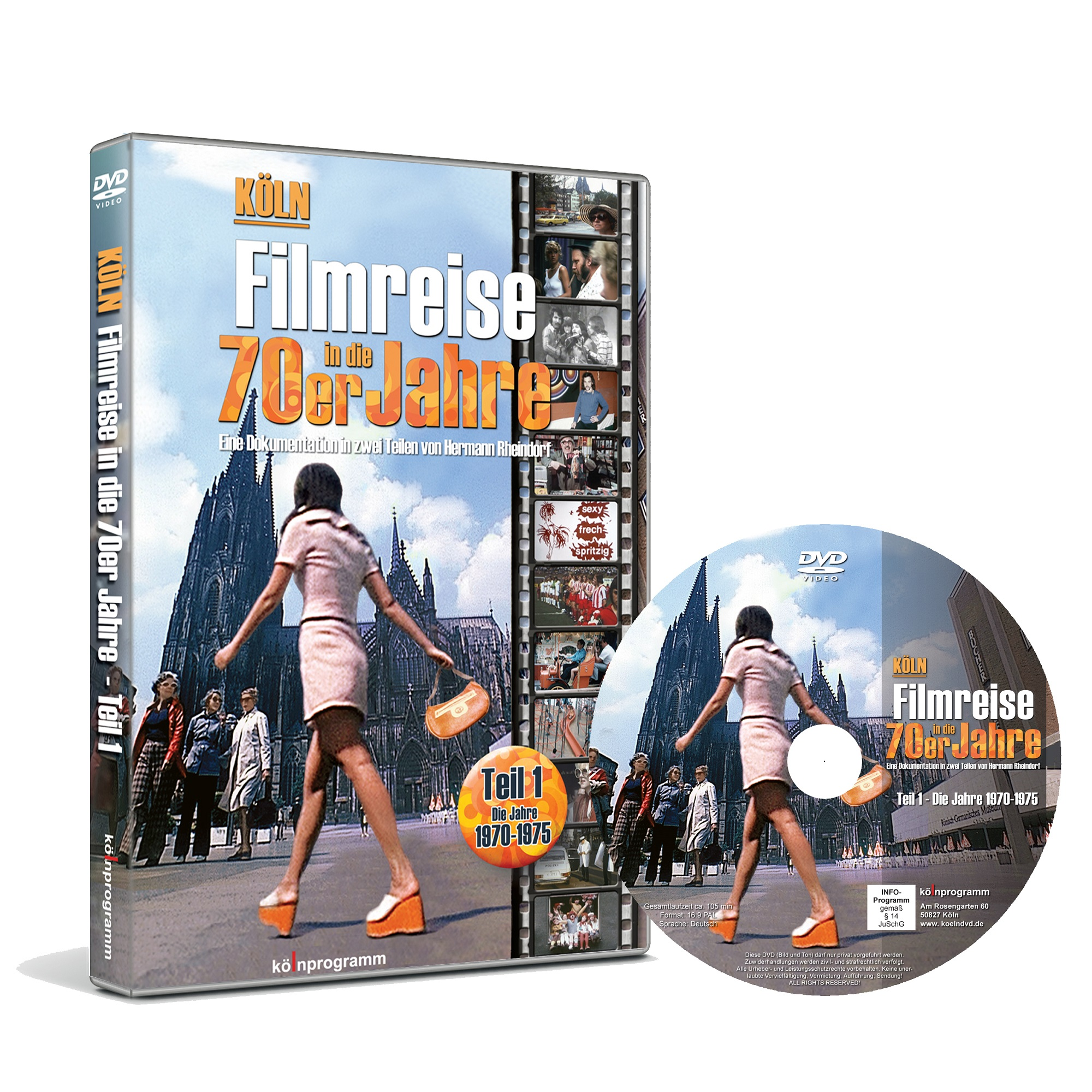 dvd k ln filmreise in die 70er jahre hermann. Black Bedroom Furniture Sets. Home Design Ideas