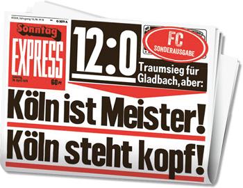 1 Fc Köln Sonderedition Vom Express Noch Mehr Köln Fuer Alle